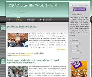 Descargar plantilla Web Style_01