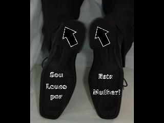 adesivo sapato noivo Novidades para Casamentos Sapatos com mensagens na sola