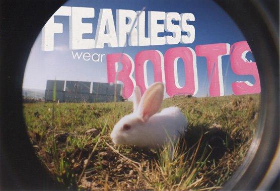 fearless  wear boots