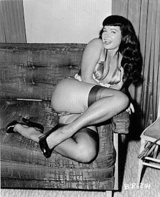 Los Angeles CA 1950's pinup queen Bettie Page has passed away Page was