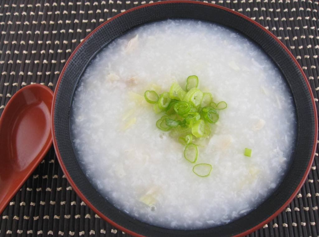 My Asian Kitchen: Fish Tilapia and Chicken Congee (Porridge)