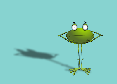 You The Biscuit: Frog cartoon character