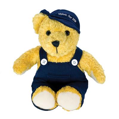 Cuddly Bear Volvo