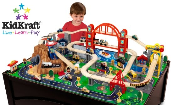 We sell a wide range of wooden train sets that are compatible with thomas and friends and brio. All of our wooden train sets have a range of themes from ...  sc 1 st  Childrenu0027s Wooden Toys Toy Play Kitchen Furniture Dollhouse KidKraft ... & Childrenu0027s Wooden Toys Toy Play Kitchen Furniture Dollhouse KidKraft ...