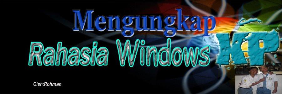 • Cara mempercepat booting dan kerja windows XP