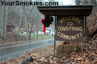 Tow String area of Qualla Cherokee Reservation