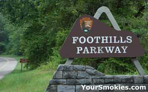 Great Smoky Mountains National Park Meeting on Foothills Parkway Section 8b