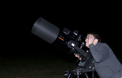 Last night was a huge hit for star gazers in Cades Cove