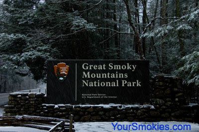 Great Smoky Mountains national park closes virtually all roads due to snow and ice