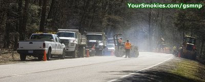 Newfound Gap Road 18 month repaving project to start March 16th