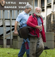 Missing hiker Albert Morgan Briggs leaves the Little River ranger Station in the Great Smoky Mountains national park