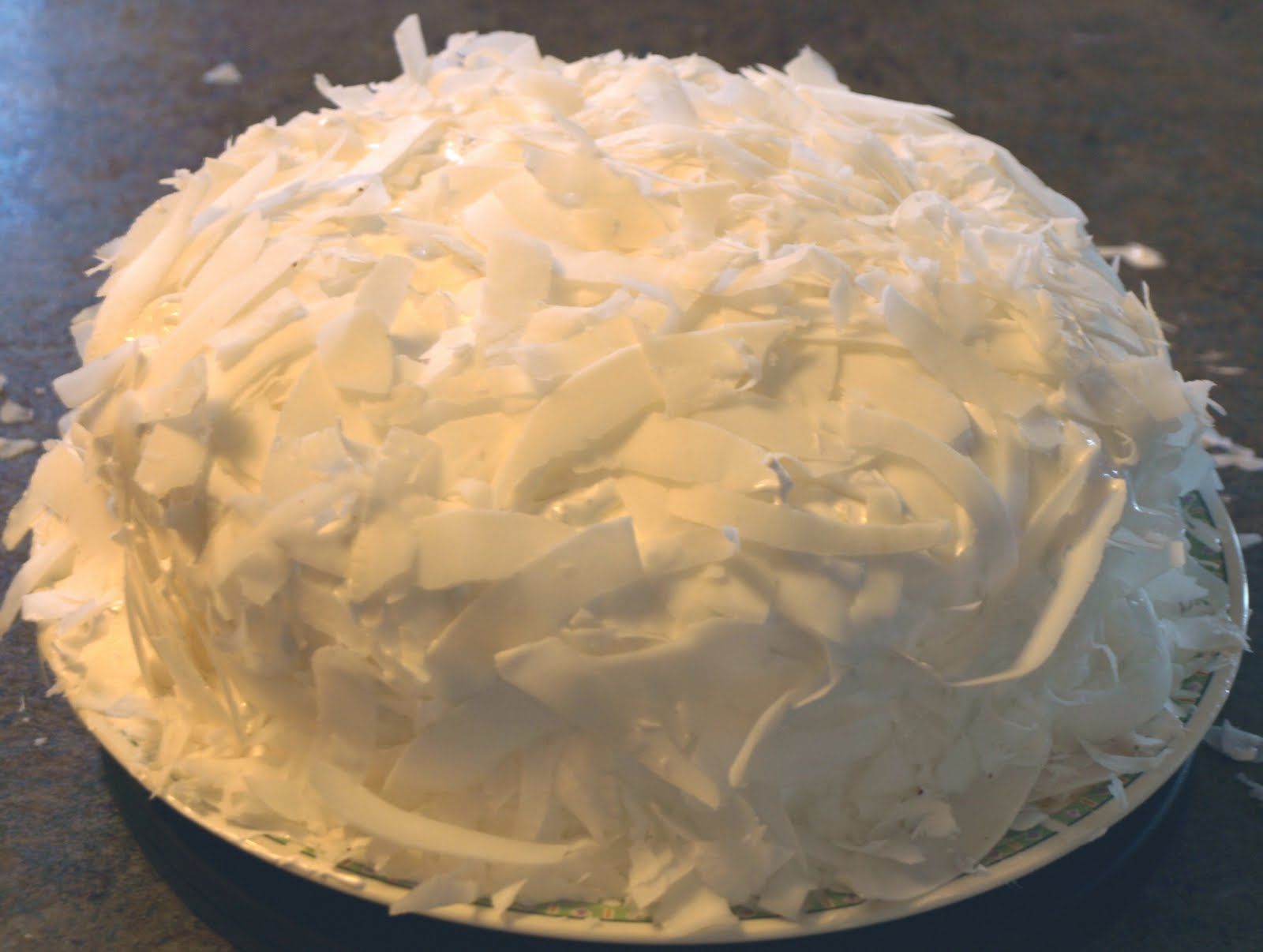 Chris vs Martha: Coconut Cake | Chrisbookarama
