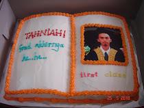 Open-book cake