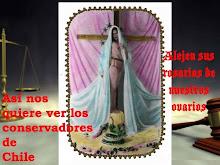 AFICHE COLECTIVA FEMINISTAS MALIGNAS INFLUENCIAS, SANTIAGO