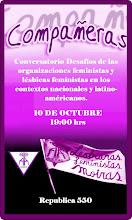 CONVERSATORIO: DESAFÍOS FEMINISTAS Y FEMINISTAS LÉSBICOS