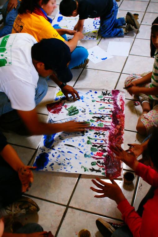 Taller de educación ambiental y forestal a través del arte y la Carta de la Tierra