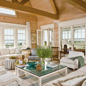 Eclectic Interior Design Group: Coastal Living-Living Rooms
