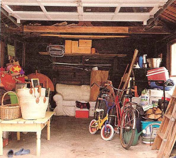 Decorganizing Wednesday: Garages