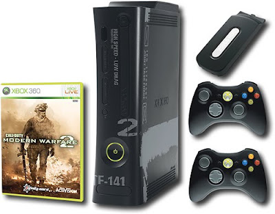 Experience the full power of the blockbuster new game Call of Duty: Modern Warfare 2 with this specially designed Xbox 360 Modern Warfare 2 Limited Edition