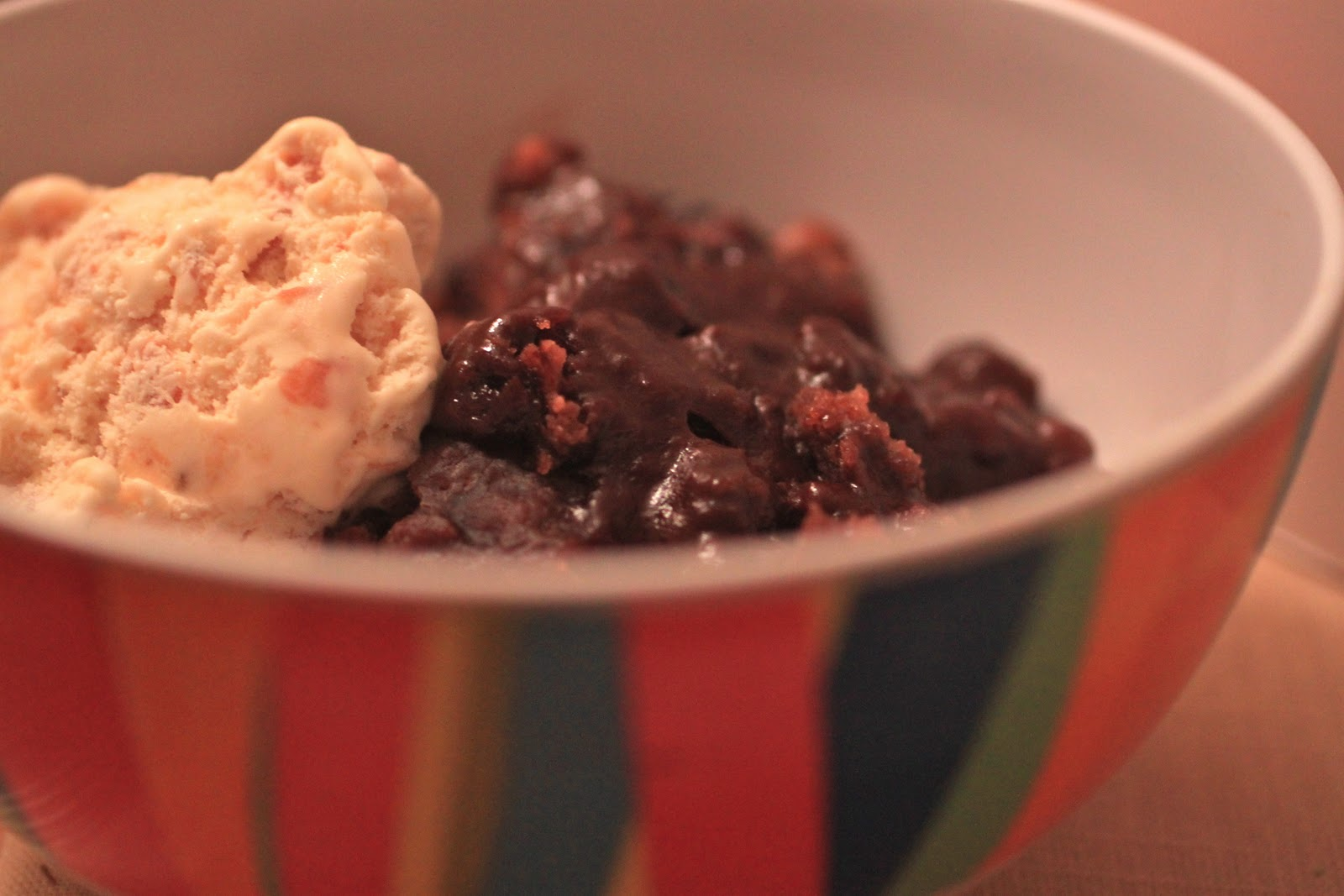 crock pot week: hot fudge peanut butter pudding cake