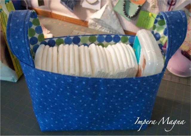 Fabric Storage Bin for Baby Gift