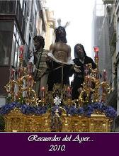 """Cartel Semana Santa """"Recuerdos del Ayer"""" 2010"""