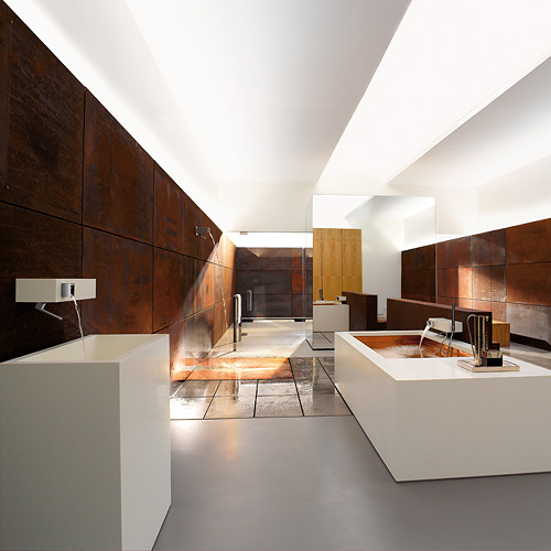 Elemental Spa Bathroom Culture by Sieger Design for Dornbracht