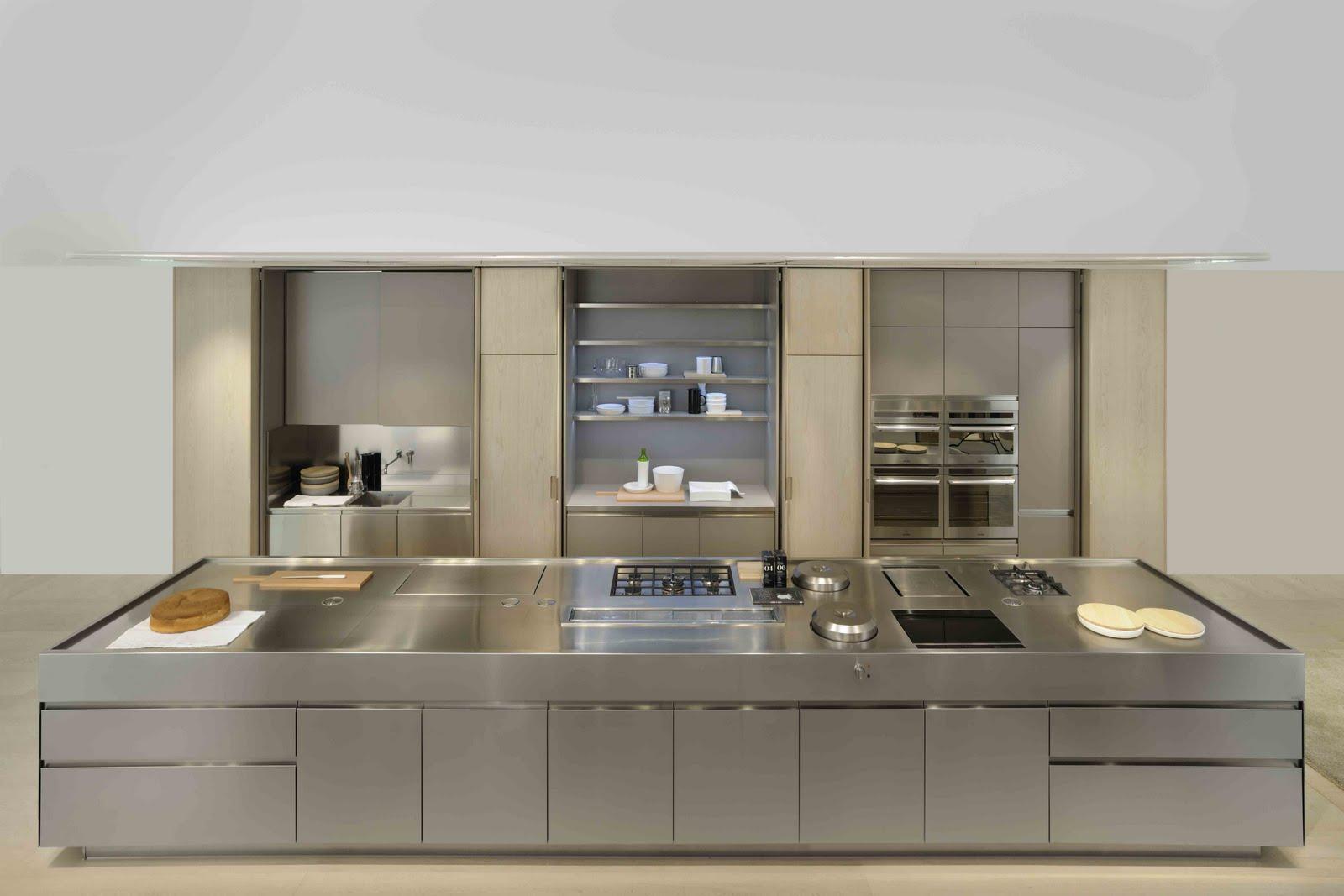 Spatia la cocina de antonio citterio para arclinea - La cocina en casa ...