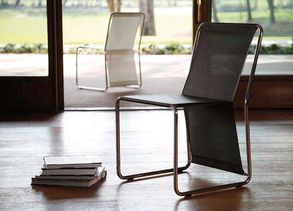 Colecci n minimalista de mobiliario para exteriores de for Mobiliario para exteriores