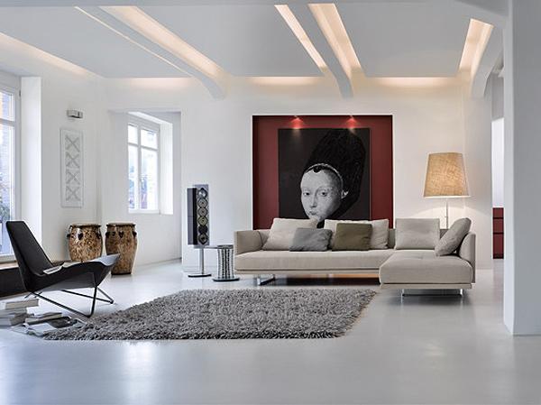 Sof s para ambientes minimalistas y ii dise o de for Ambientes minimalistas interiores