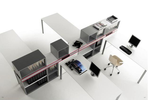 Casa inspiracion la oficina se mueve con el sistema de for Muebles de oficina castilla