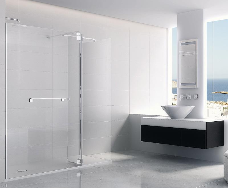 Mampara minimalista para ducha de profiltek - Precios de mamparas para ducha ...