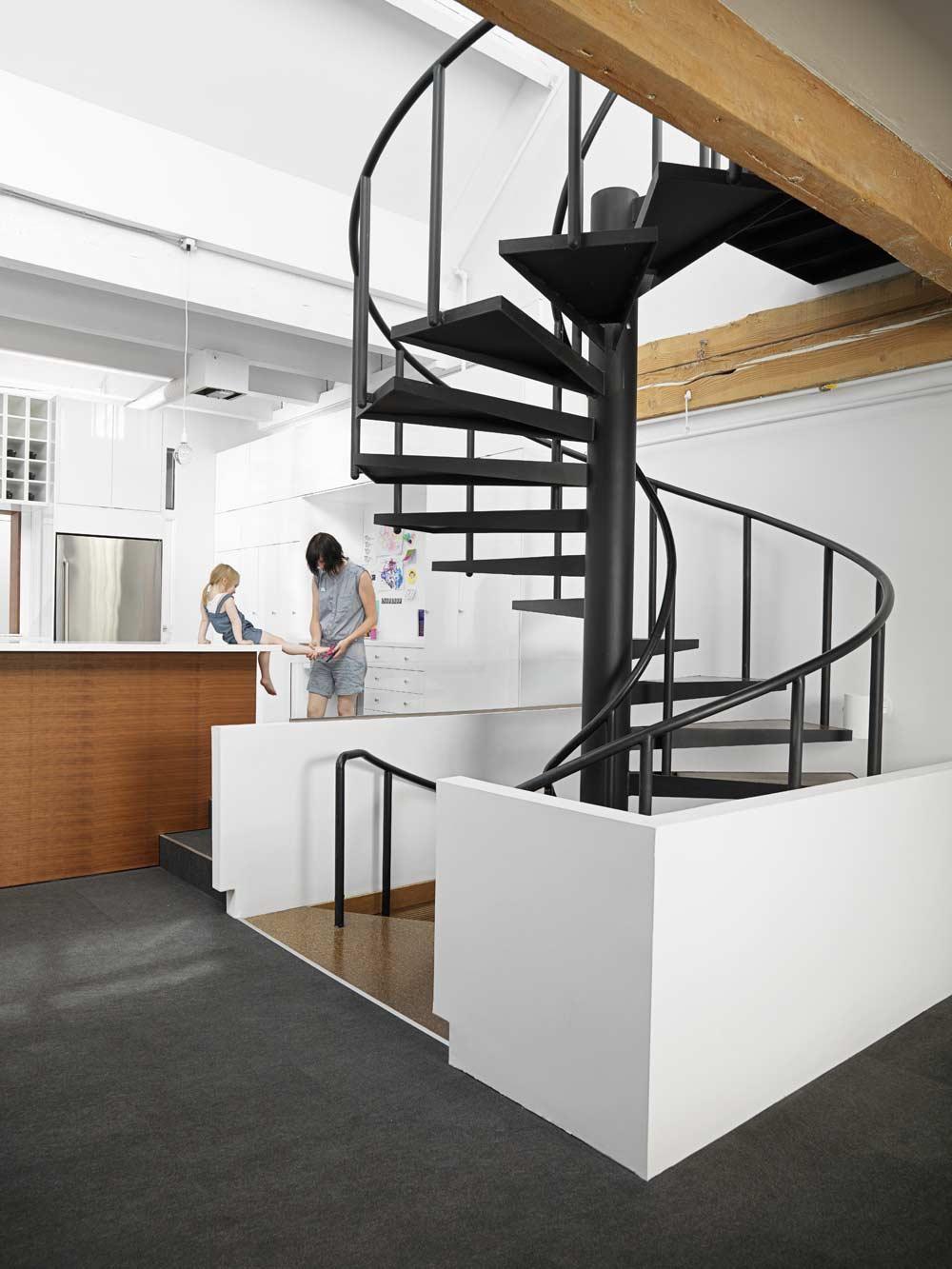Crosstown loft del estudio campos leckie dise o de for Casas loft diseno