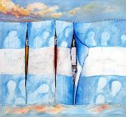 . de la bandera argentina por el Gral Manuel Belgrano hasta la actualidad. tormentosos despejados cielos argentinos