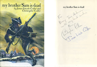 a literary analysis of my brother sam is dead by james lincoln collier and christopher collier My brother sam is dead is a young adult historical fiction novel by james lincoln collier and christopher collier the book summary & analysis.