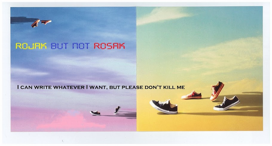 rojak but not rosak