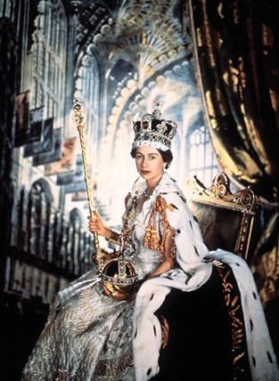 queen elizabeth ii coronation 1953. QUEEN ELIZABETH II CORONATION