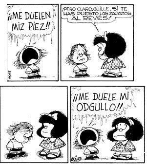 Puede no estar MAFALDA en un sector de historietas o comics? Mafalda+y+el+berrinche+de+guille