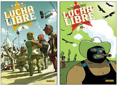Lucha Libre The Luchadores 5
