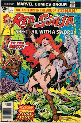 Frank Thorne - Red Sonja