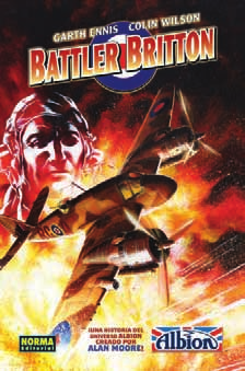 Battler Britton de Garth Ennis y Colin Wilson