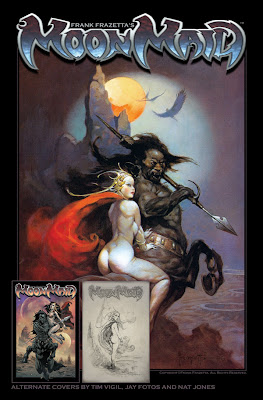 Moon Maid de Frank Frazetta