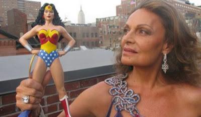Diane von Furstenberg y Wonder Woman