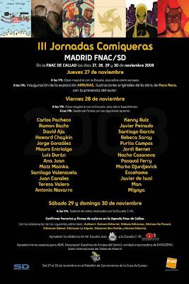 III Jornadas Comiqueras Madrid FNAC/SD