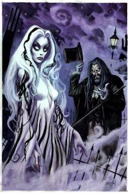 Zombie dead girl - Dan Brereton