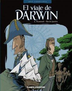 El viaje de Darwin de José Miguel Fonollosa