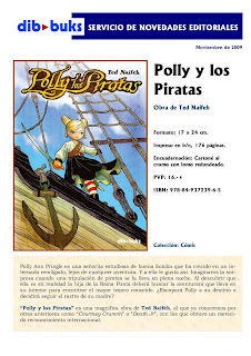 Polly y los piratas de Ted Naifeh 1