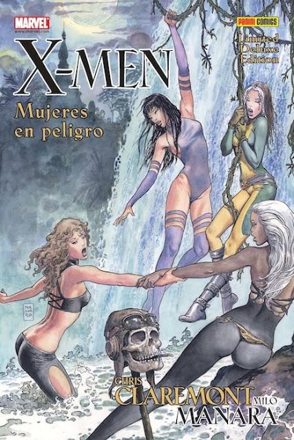 X-Men - Mujeres en peligro - Chris Claremont y Milo Manara