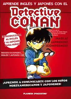 Aprende inglés y japonés con el Detective Conan