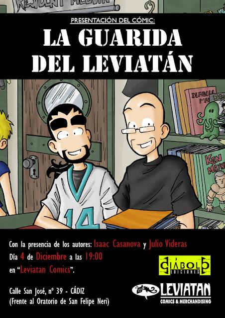 Presentación de Leviatán en Cádiz